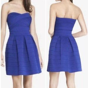 NWT Cocktail Dress XS Fit & Flare Strapless…